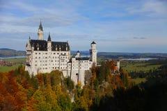 Neuschwanstein Tyskland Fotografering för Bildbyråer
