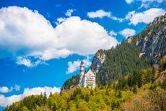 Neuschwanstein - Tyskland Arkivbilder
