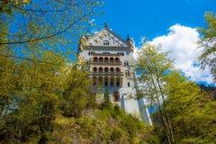 Neuschwanstein - Tyskland Royaltyfri Bild
