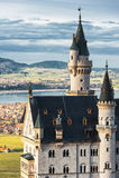 Neuschwanstein wierza Fotografia Royalty Free