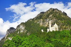 Neuscwanstein castle , Germany, Bavaria Stock Image