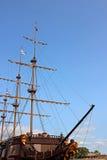 Neusdeel van een varend schip Royalty-vrije Stock Afbeelding