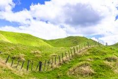 Neuseeland-Ackerlandpanorama Lizenzfreies Stockfoto
