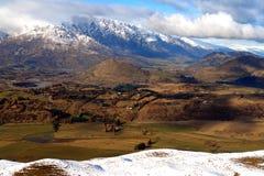 Neuseeland-Berge Lizenzfreie Stockfotos