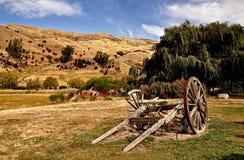 Neuseeland-Berge und Landstandort stockfotos
