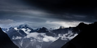 Neuseeland-Dämmerung Lizenzfreie Stockfotografie