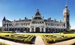 Neuseeland, Dunedin, historischer Bahnhof Stockfotografie