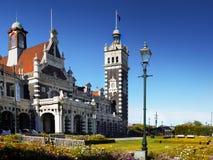 Neuseeland, Dunedin, historischer Bahnhof Stockbilder