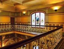 Neuseeland, Dunedin, historischer Bahnhof Stockbild