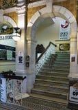 Neuseeland, Dunedin, historischer Bahnhof Lizenzfreies Stockfoto