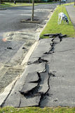 Neuseeland-Erdbebenschaden Lizenzfreie Stockfotos