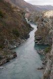 Neuseeland-Fluss Lizenzfreies Stockfoto