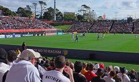 Neuseeland gegen Weltcup U-20 Ukraine FIFA 2015 Stockfotografie