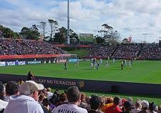 Neuseeland gegen Weltcup U-20 Ukraine FIFA 2015 lizenzfreie stockfotografie