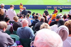 Neuseeland gegen Weltcup U-20 Ukraine FIFA 2015 Stockbilder