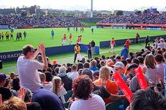 Neuseeland gegen Weltcup U-20 Ukraine FIFA 2015 lizenzfreie stockbilder