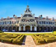Neuseeland, historische Gebäude, Dunedin, Bahnhof Lizenzfreies Stockbild