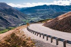 Neuseeland-Landstraße Lizenzfreies Stockbild