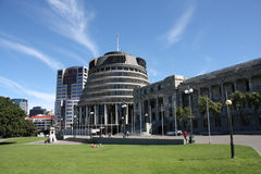 Neuseeland-Parlament Lizenzfreie Stockfotos