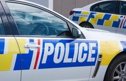Neuseeland-Polizei stockfotografie