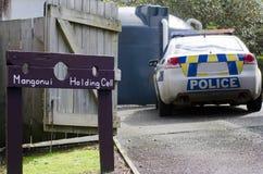 Neuseeland-Polizei Stockfoto