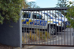 Neuseeland-Polizei Stockbild