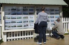 Neuseeland Real Estate vermarkten Stockbilder