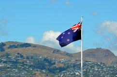 Neuseeland-Staatsflagge stockfoto