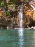 Neuseeland-Wasserfall Lizenzfreie Stockfotos