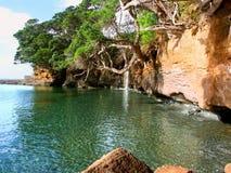 Neuseeland-Wasserfall Lizenzfreie Stockbilder