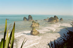 Neuseeland-Westküste Lizenzfreies Stockbild