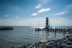 Neusiedler See Lighthouse, Austria Stock Images