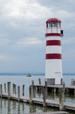 Neusiedler voient le phare images stock