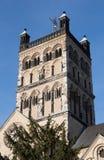 Neuss, basílica de St Quirinus fotografia de stock