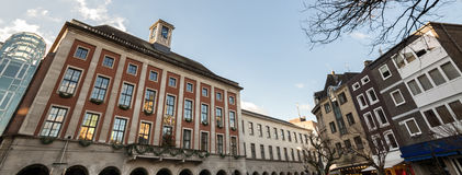 Neuss city view germany Royalty Free Stock Images