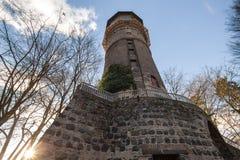 Neuss Germania della torre del mulino a vento Immagine Stock
