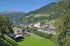 Neustift,Stubaital,Tirol,Austria. The Village of Neustift im Stubaital,tirol,austria Royalty Free Stock Photos