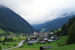 Neustift w Stubai dolinie, Austria Zdjęcie Stock