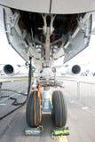 Neustoestel van de Luchtbus A350 in Singapore Airshow 2014 royalty-vrije stock foto's