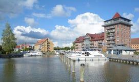 Neustrelitz, район озера Mecklenburg, Германия Стоковая Фотография