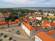 Neustrelitz from above Royalty Free Stock Image