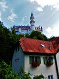 Neuswanstein kasztel Niemcy Zdjęcie Royalty Free