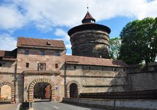 Neutor w Nuremberg obraz stock