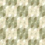 Neutraal verzwakt textiel geometrisch naadloos patroon, decoratief ab vector illustratie