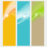 Neutral abstract banner Royalty Free Stock Image