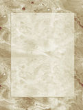 Neutral beige parchment  note violet waves and bubbles  organic flowing texture Stock Photography