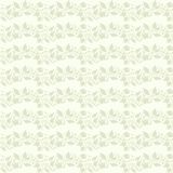 Neutral beige plant wallpaper Stock Photo