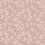 Neutral beige plant wallpaper Royalty Free Stock Image
