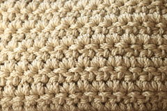 Neutral Color Double Crochet Stock Photography