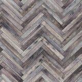 Neutral de madera inconsútil de la raspa de arenque de la textura del entarimado Imagen de archivo